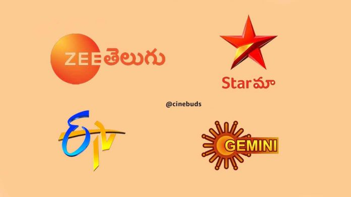 Trp Rating of Telugu Channels 2020